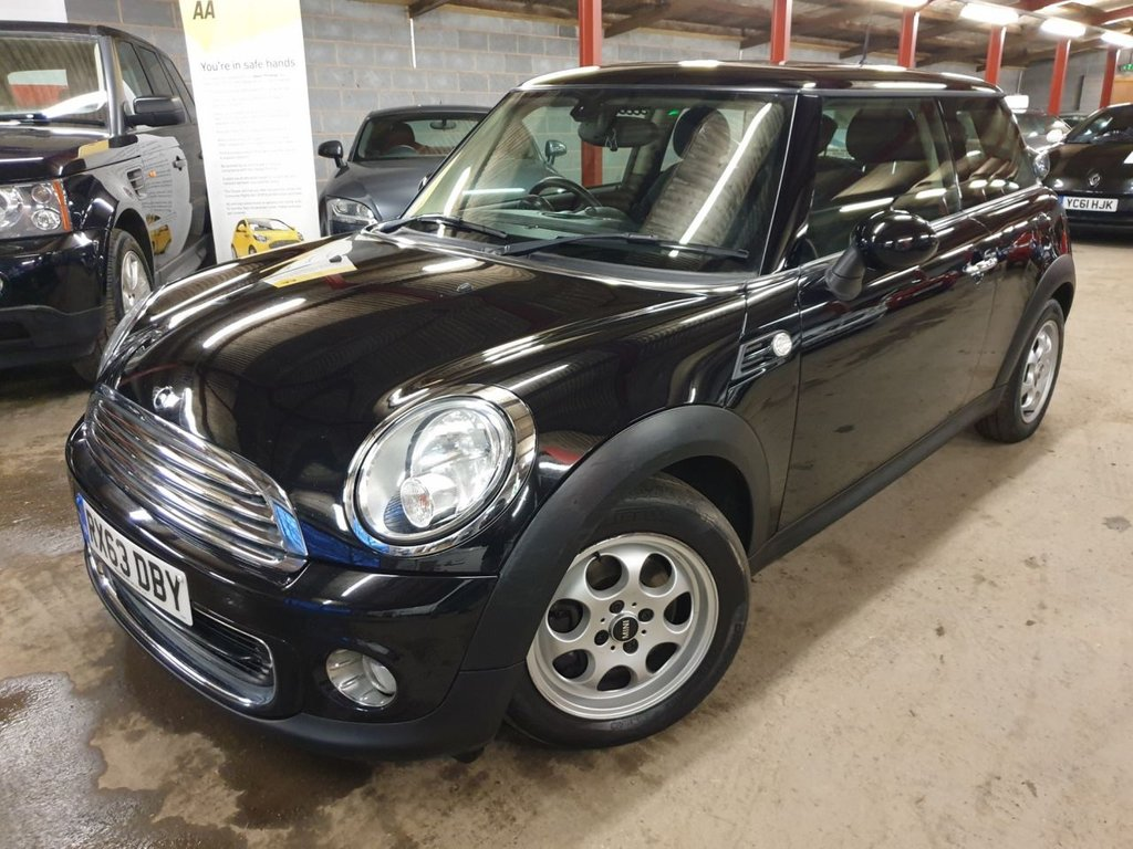 USED 2013 63 MINI HATCH ONE 1.6 ONE 3d 98 BHP +++BLUETOOTH & GLASS ROOF+++