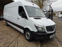 2016 MERCEDES-BENZ SPRINTER 313 CDi LWB High roof *4 METRE LOAD LENGTH* SOLD