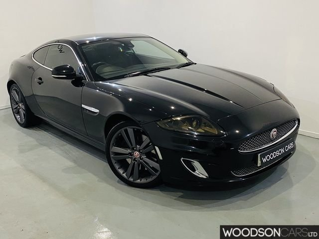 USED 2014 63 JAGUAR XK 5.0 PORTFOLIO 2DR AUTOMATIC Full Service History / Bluetooth / Stainless Exhaust