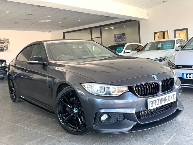 USED 2016 16 BMW 4 SERIES GRAN COUPE 3.0 430D M SPORT GRAN COUPE 4d 255 BHP BM PERFORMANCE STYLING+6.9%APR