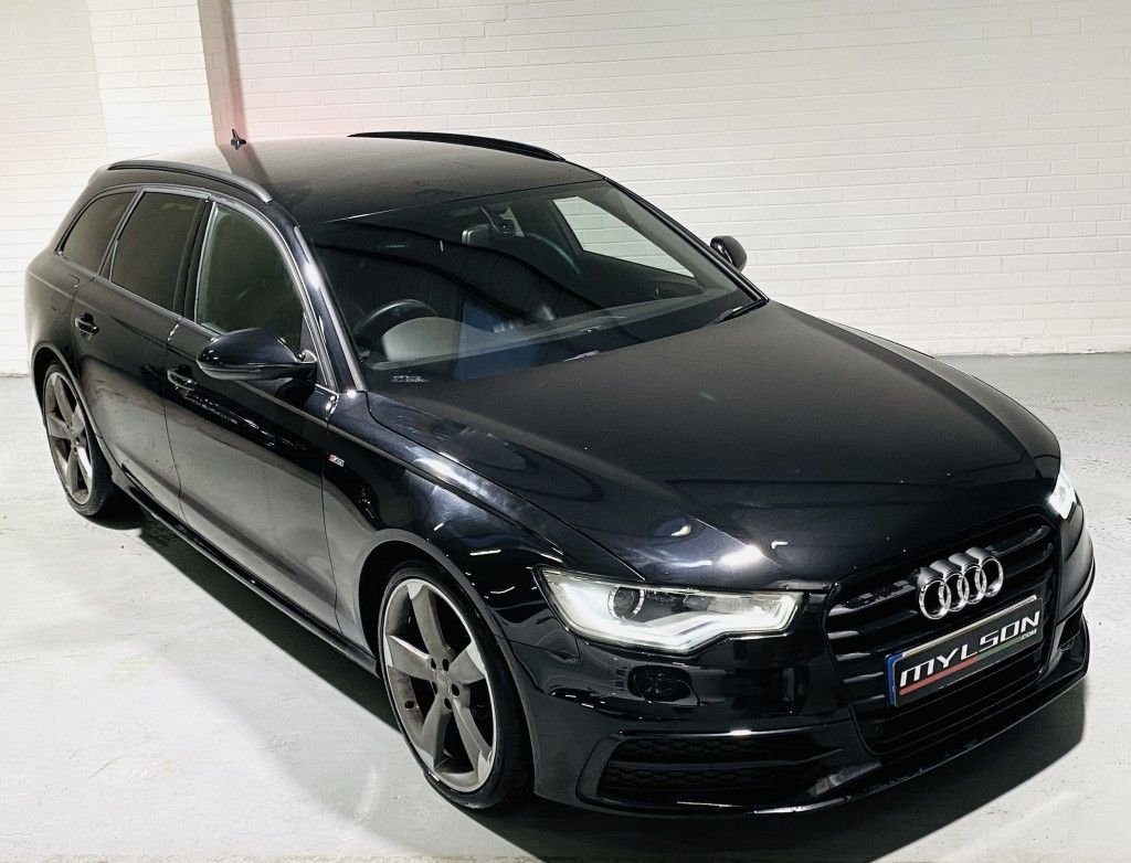USED 2013 13 AUDI A6 2.0 AVANT TDI BLACK EDITION 5DR CVT Audi A6 Avant 2.0 Black Edition SAT-NAV, BOSE, 20 inch Rotors