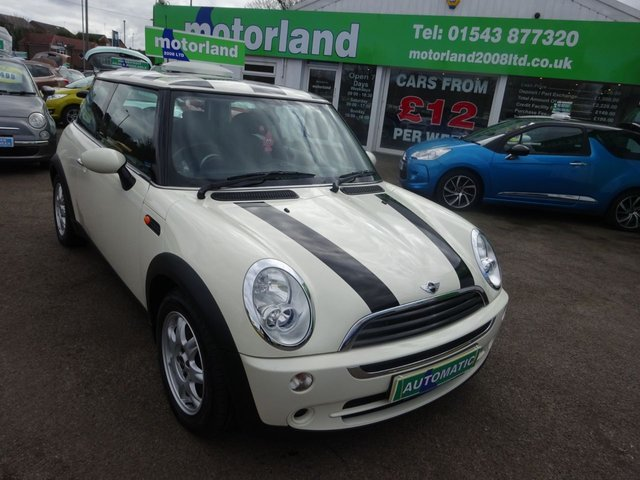 USED 2005 54 MINI HATCH ONE MINI ONE AUTO **ONLY 42,000 MILES FROM NEW **AUTOMATIC**