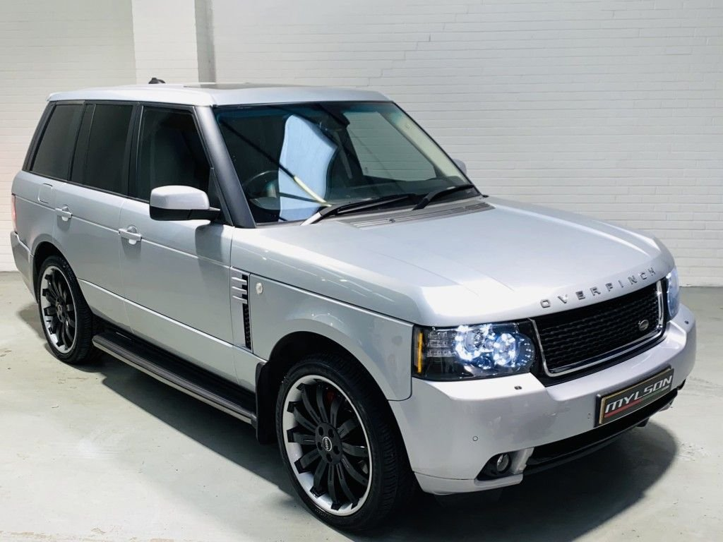 USED 2008 58 LAND ROVER RANGE ROVER 3.6 TDV8 VOGUE 5DR AUTOMATIC Overfinch Kit, Facelift Spec, Stunning Car with Excellent Service History