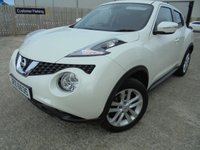 USED 2015 NISSAN JUKE 1.5 ACENTA DCI 5d 110 BHP Excellent Condition, No Deposit Required, Part Exchange Welcomed