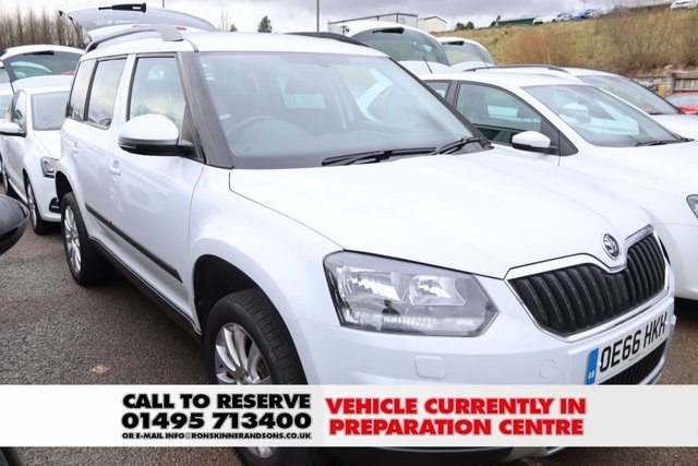 View our 2016 66 SKODA YETI 2.0 OUTDOOR SE BUSINESS TDI SCR 5d 109 BHP