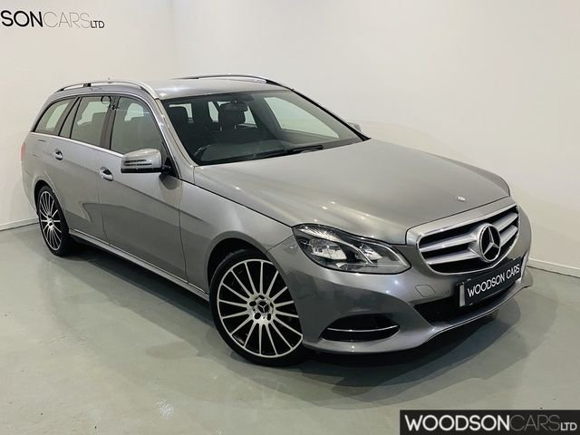 USED 2014 64 MERCEDES-BENZ E CLASS 2.1 E220 BLUETEC SE 5DR AUTOMATIC 2 Previous Owners / Bluetooth / Sat Nav