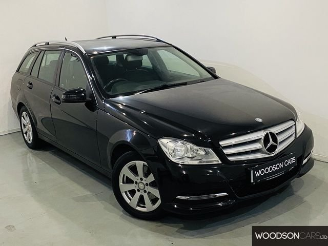 USED 2014 14 MERCEDES-BENZ C CLASS 2.1 C220 CDI EXECUTIVE SE 5DR AUTOMATIC 1 Previous Owner / Sat Nav