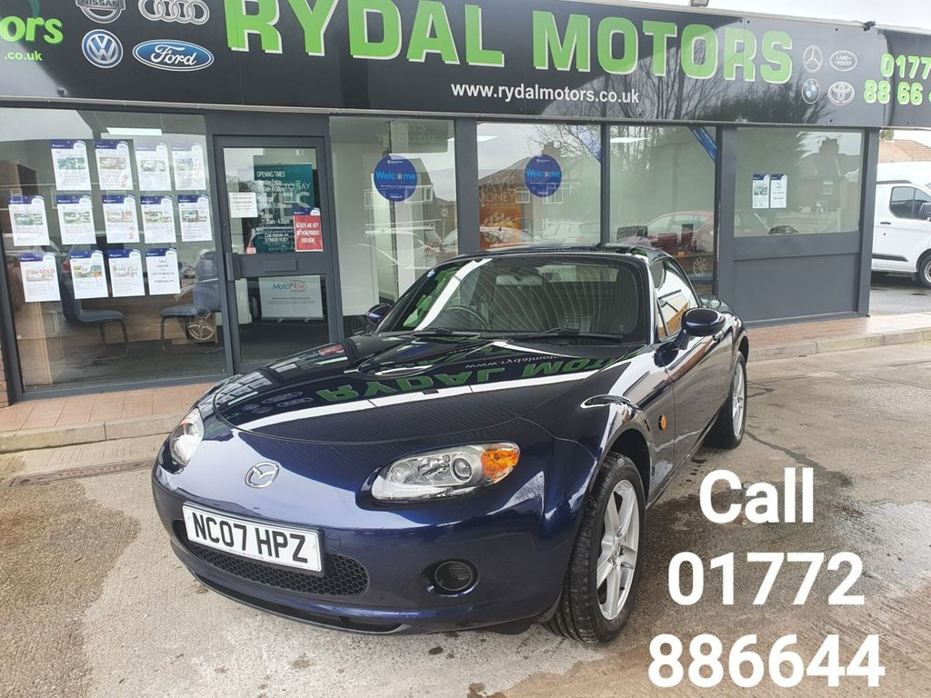 USED 2007 07 MAZDA MX-5 1.8 I ROADSTER 2d 125 BHP A STUNNING EXAMPLE