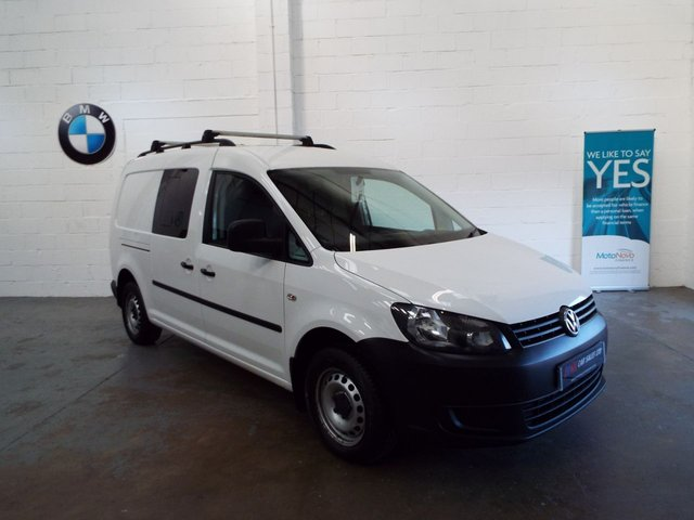 2014 14 VOLKSWAGEN CADDY MAXI 1.6 C20 TDI KOMBI 102 BHP A RARE CREW CAB MODEL SOLD TO CRAIG FROM BARNSLEY