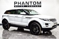 USED 2013 63 LAND ROVER RANGE ROVER EVOQUE 2.2 SD4 PURE 5d 190 BHP