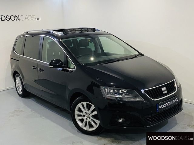USED 2012 62 SEAT ALHAMBRA 2.0 SE LUX CR TDI ECOMOTIVE 5DR Leather Seats / Panoramic Roof / Sat Nav / Bluetooth / Isofix