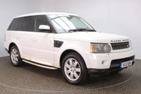 USED 2011 11 LAND ROVER RANGE ROVER SPORT 3.0 TDV6 HSE 5DR 245 BHP + LOW MILES +  SERVICE HISTORY + HEATED LEATHER SEATS + SATELLITE NAVIGATION + REVERSE CAMERA + PARKING SENSOR + BLUETOOTH + CRUISE CONTROL + CLIMATE CONTROL + MULTI FUNCTION WHEEL + XENON HEADLIGHTS + PRIVACY GLASS + SIDE STEPS + ELECTRIC/MEMORY FRONT SEATS + ELECTRIC WINDOWS + ELECTRIC/FOLDING DOOR MIRRORS + 19 INCH ALLOY WHEELS