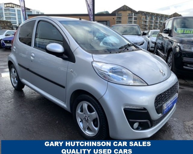 USED 2014 14 PEUGEOT 107 ALLURE 5dr AUTOMATIC