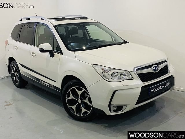 USED 2013 13 SUBARU FORESTER 2.0 I XT 5DR CVT 2 Previous Owners / Bluetooth / Sat Nav / Panoramic Roof