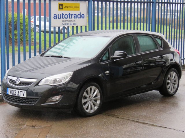 USED 2012 12 VAUXHALL ASTRA 1.4 ACTIVE 5d 98 BHP ULEZ COMPLIANT, Bluetooth Ideal Family Car with History