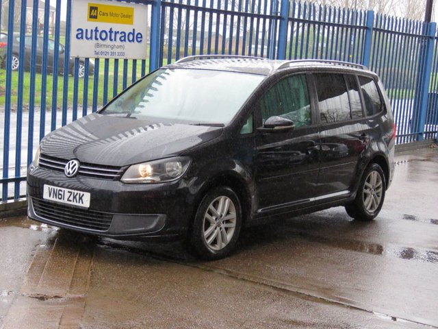USED 2011 61 VOLKSWAGEN TOURAN 2.0 SE TDI BLUEMOTION TECHNOLOGY 5dr 138 7 Seater Bluetooth Cruise Air con Alloys Privacy Finance arranged Part exchange available Open 7 days