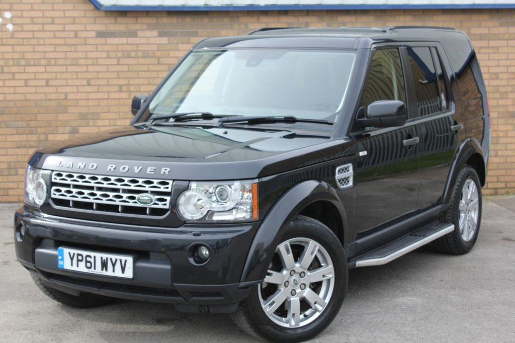 USED 2011 61 LAND ROVER DISCOVERY 3.0 4 SDV6 GS 5d 255 BHP