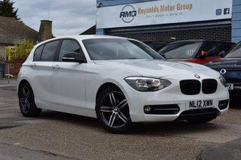 2012 BMW 1 SERIES 1.6 116I SPORT 5d 135 BHP £7699.00
