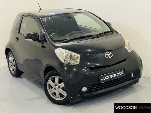 USED 2010 60 TOYOTA IQ 1.0 VVT-I IQ2 3DR NEW CLUTCH / 1 Previous Owner / FREE Road Tax