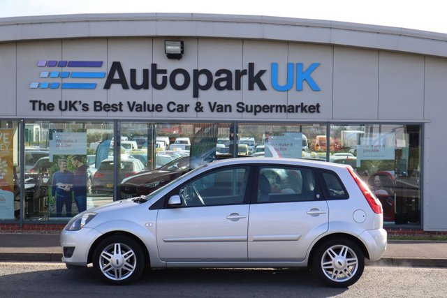 USED 2007 57 FORD FIESTA 1.6 GHIA 16V 5d 100 BHP LOW DEPOSIT OR NO DEPOSIT FINANCE AVAILABLE