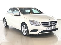 USED 2015 15 MERCEDES-BENZ A-CLASS 1.5 A180 CDI SPORT EDITION 5d 107 BHP 1 OWNER | SAT NAV | LEATHER |