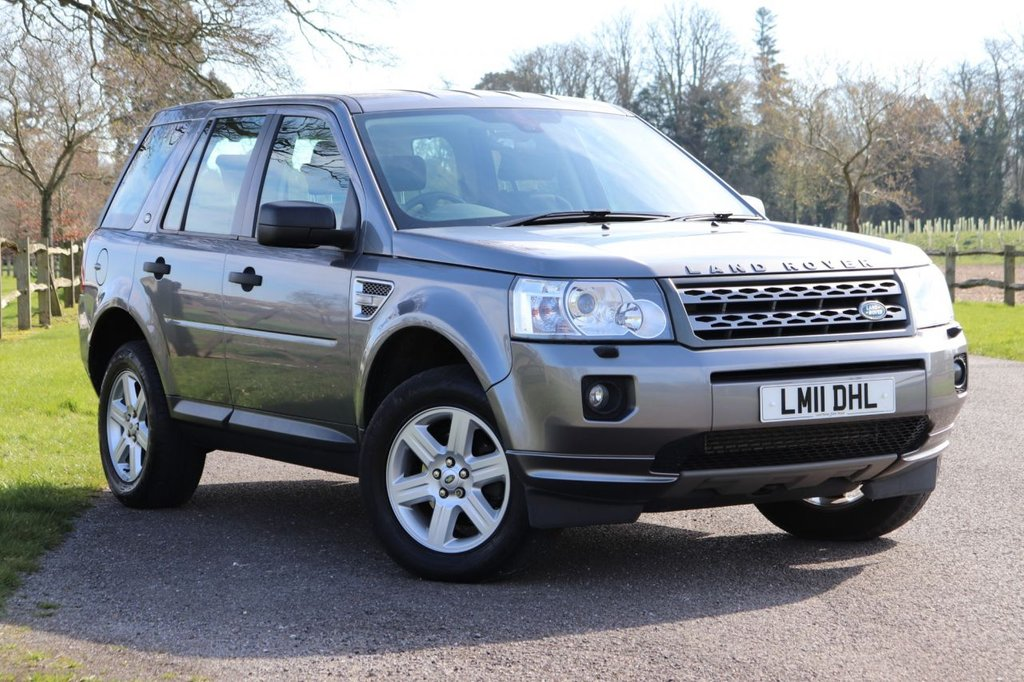 USED 2011 11 LAND ROVER FREELANDER 2.2 TD4 GS 5d 150 BHP 1 Owner + Parking Aid + Cruise