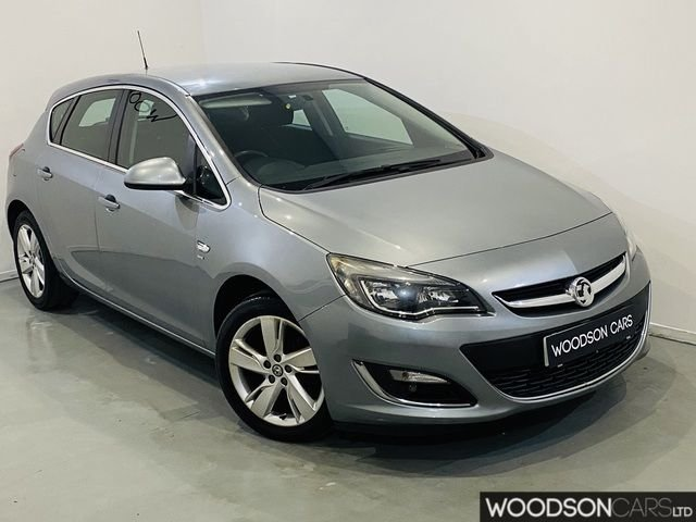 USED 2013 13 VAUXHALL ASTRA 1.4 SRI 5DR Full Service History / 2 Previous Owners