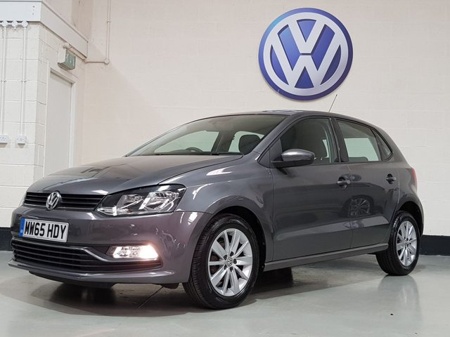 "USED 2015 65 VOLKSWAGEN POLO 1.0 SE 5d 60 BHP 1 Previous Owner/Bluetooth/£20 Tax/15"" Alloys/Dab Radio"