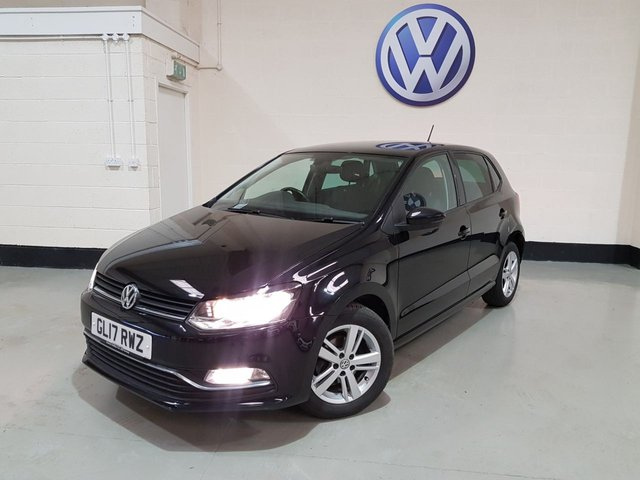 USED 2017 17 VOLKSWAGEN POLO 1.2 MATCH EDITION TSI 5d 89 BHP 1 Owner/ Vw History /£20 Tax/ Front & Rear Park Sensors