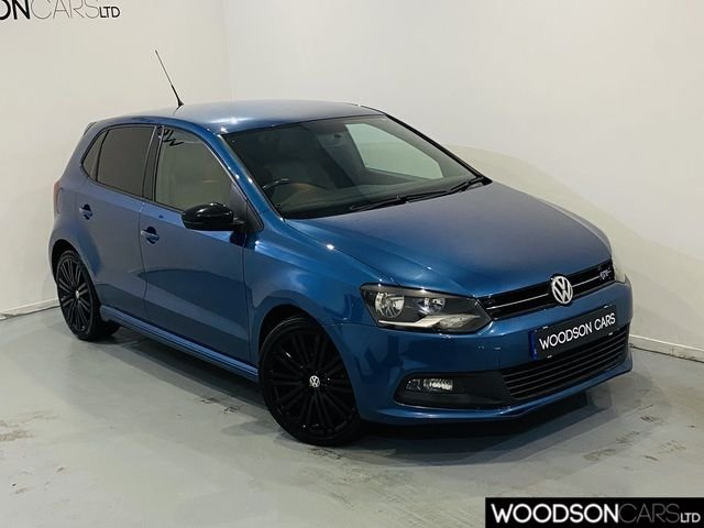 USED 2014 14 VOLKSWAGEN POLO 1.4 BLUEGT 5DR Sat Nav / Bluetooth / Parking Sensors