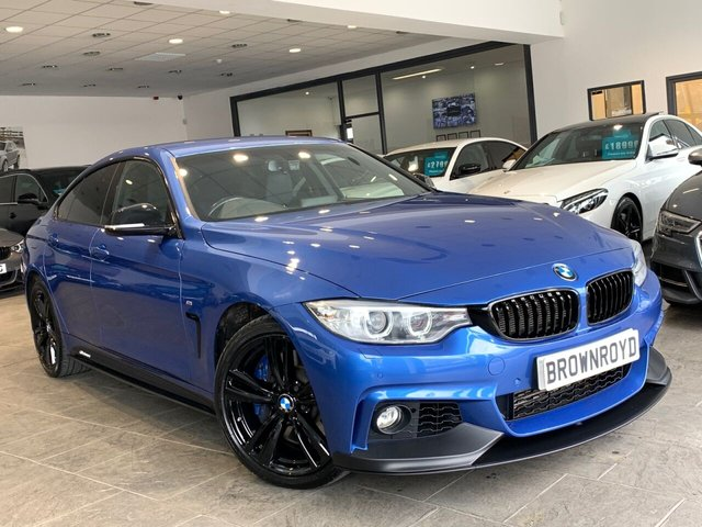 USED 2016 66 BMW 4 SERIES GRAN COUPE 3.0 435D XDRIVE M SPORT GRAN COUPE 4d 309 BHP BM PERFORMANCE STYLING+6.9%APR