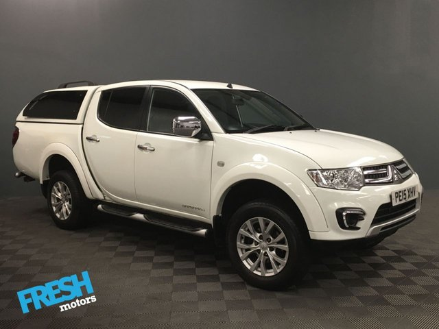 USED 2015 15 MITSUBISHI L200 2.5 DI-D 4X4 BARBARIAN LB DCB (NO VAT) * 0% Deposit Finance Available