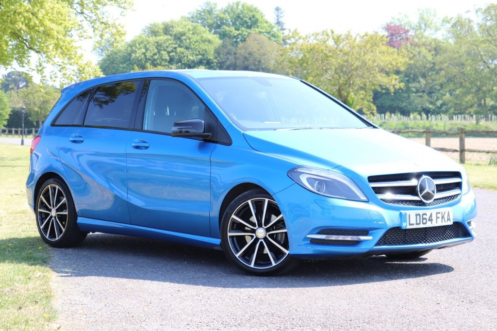 USED 2014 64 MERCEDES-BENZ B-CLASS 1.5 B180 CDI BLUEEFFICIENCY SPORT 5d 107 BHP 1 Owner+ Camera + Cruise + Fsh
