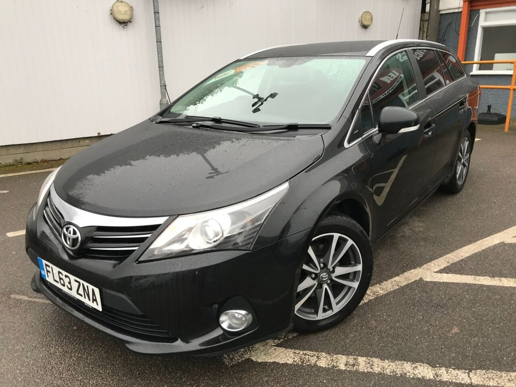 USED 2013 63 TOYOTA AVENSIS 2.0 D-4D ICON 5d 124 BHP FULL TOYOTA SERVICE HISTORY