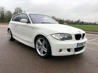USED 2008 08 BMW 1 SERIES 2.0 118D M SPORT 3d 141 BHP