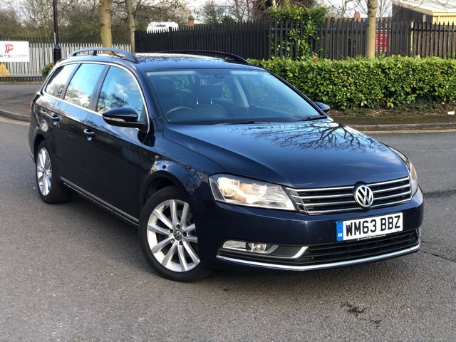 2014 63 VOLKSWAGEN PASSAT 1.6 EXECUTIVE TDI BLUEMOTION TECHNOLOGY 5d 104 BHP