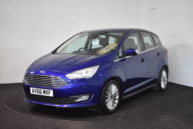 USED 2017 66 FORD C-MAX 1.5 TITANIUM TDCI 5d 118 BHP CONTACTLESS PURCHASE AVAILABLE