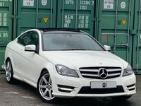 USED 2014 14 MERCEDES-BENZ C-CLASS 1.6 C180 AMG Sport Edition (Premium Plus) 7G-Tronic Plus 2dr DAB/HeatedSeats/PanRoof/Xenon