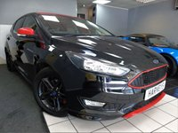 USED 2016 66 FORD FOCUS 1.5 ZETEC S BLACK EDITION 5d 180 BHP