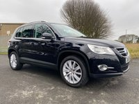 USED 2009 59 VOLKSWAGEN TIGUAN 2.0 TDI 170ps 4MOTION BLACK FSH LADST OWNER 8 YEARS