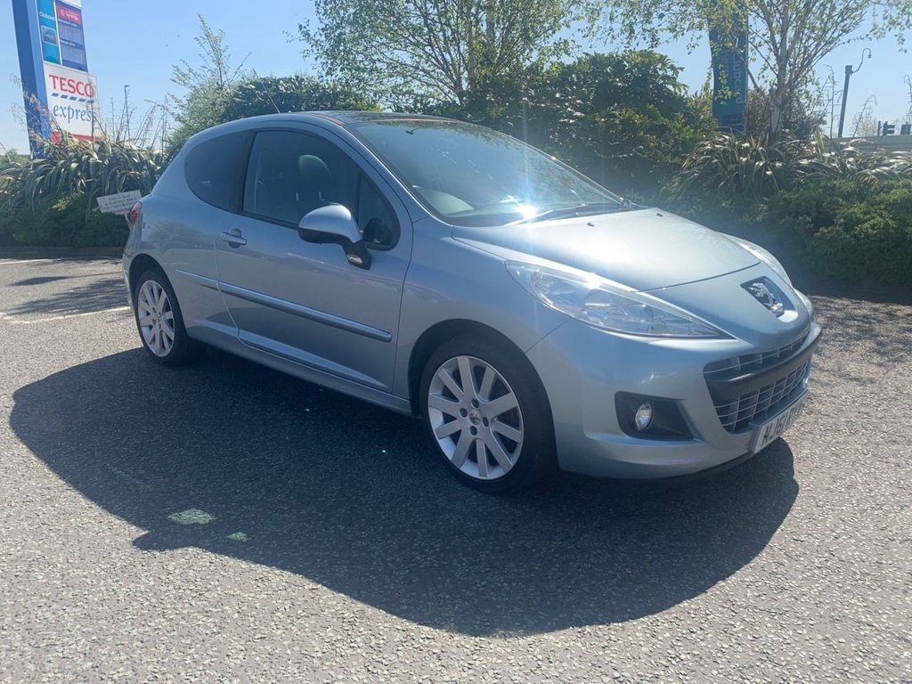 USED 2011 61 PEUGEOT 207 1.6 ALLURE 3d 120 BHP Automatic and low Mileage