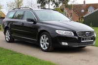 USED 2015 15 VOLVO V70 2.0 D4 SE NAV 5d 178 BHP Automatic - SE model - Black -
