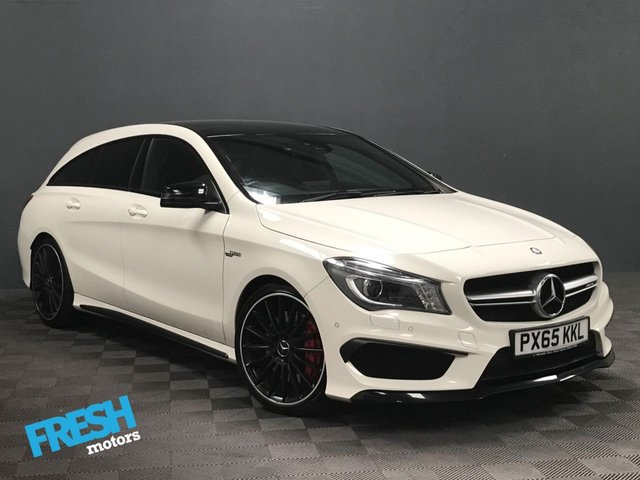 USED 2015 65 MERCEDES-BENZ CLA 2.0 CLA45 AMG 4MATIC SHOOTING BRAKE 355 BHP * 0% Deposit Finance Available