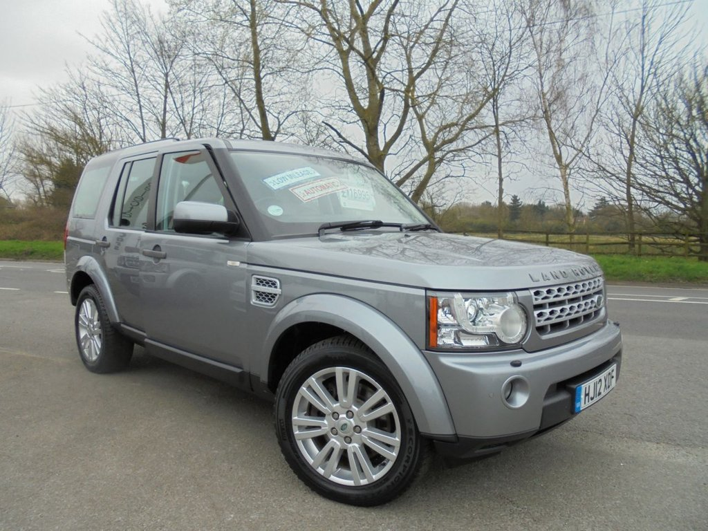 USED 2012 12 LAND ROVER DISCOVERY 3.0 4 SDV6 XS 5d 255 BHP