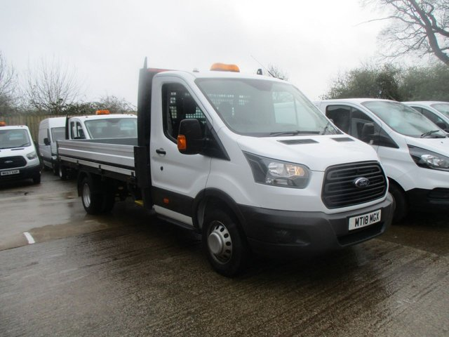 2018 18 FORD TRANSIT 2.0 350 130 BHP L5 Extended Frame Single Cab Dropside