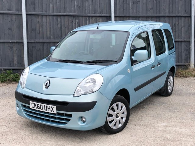 USED 2010 60 RENAULT KANGOO 1.6 EXPRESSION 16V 5d 105 BHP AUTOMATIC LOW MILEAGE FINANCE ME TODAY-PX  UK DELIVERY POSSIBLE