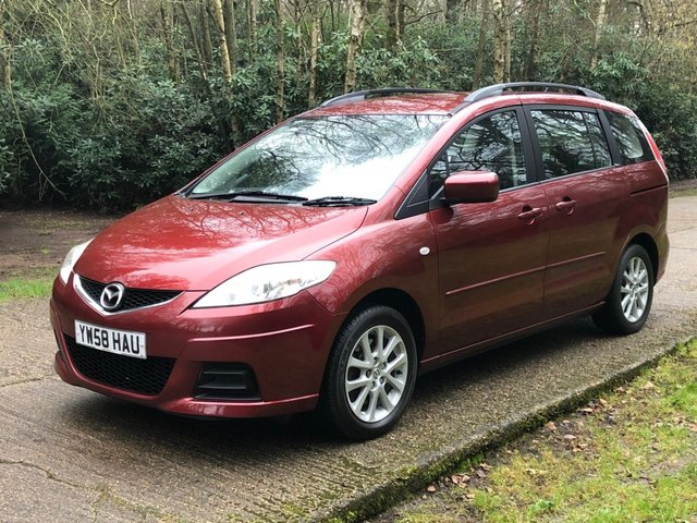 USED 2009 58 MAZDA MAZDA 5 1.8 TS2 5d 115 BHP 7 SEATS, LOW MILES. FINANCE, PX & FREE UK DELIVERY POSSIBLE