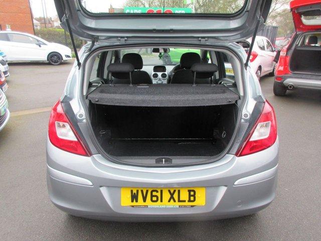 USED 2011 61 VAUXHALL CORSA 1.2 S A/C 5d 83 BHP LOW INSURANCE 5 DOOR HATCHBACK