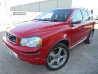 USED 2014 VOLVO XC90 2.4 D5 R-DESIGN NAV AWD 5d 200 BHP Brilliant 7 Seater SUV, Excellent Condition, No Deposit Finance Available, Part Exchange Welcomed