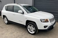 USED 2013 JEEP COMPASS 2.1 CRD LIMITED  ** LEATHER INTERIOR, KEYLESS ENTRY, ISOFIX POINTS **